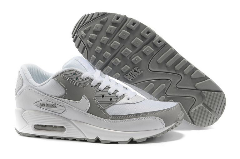 Nike Air Max 90 Essential Mens Trainers White Grey