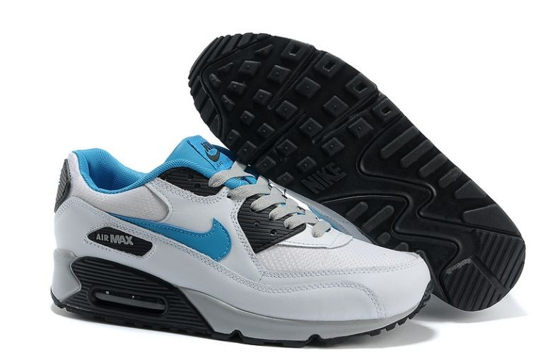 Nike Air Max 90 Essential Mens Trainers White Neo Turquoise Obsidian