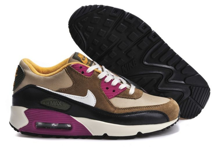 Nike Air Max 90 Essential Womens Trainers Bamboo Sail Medium Olive Black