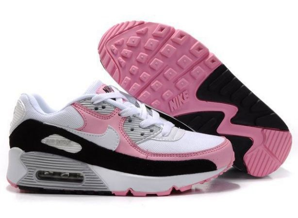 Nike Air Max 90 Essential Womens Trainers White Digital Pink Black
