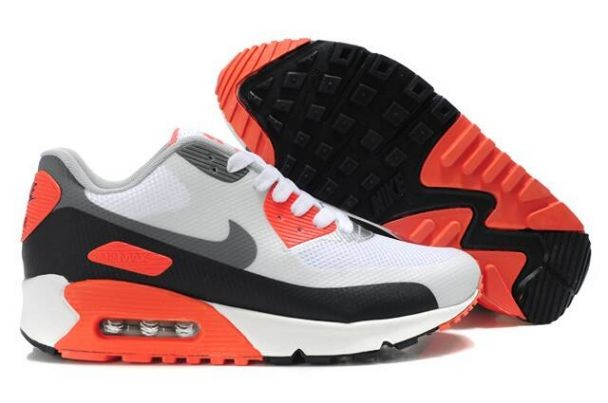 Nike Air Max 90 Hyperfuse Premium Mens Shoes Infrared