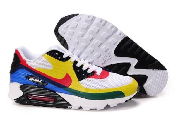 Nike Air Max 90 Hyperfuse Premium Mens Shoes Olympic