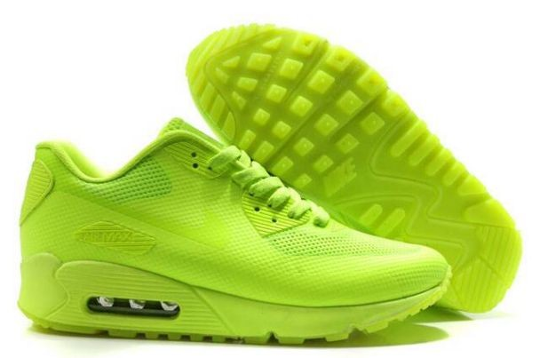 Nike Air Max 90 Hyperfuse Premium Mens Shoes Volt