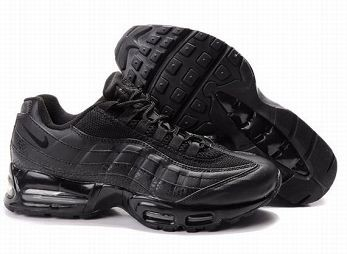 Nike Air Max 95 Mens Trainers All Black