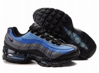 Nike Air Max 95 Mens Trainers Black Blue Dark Grey