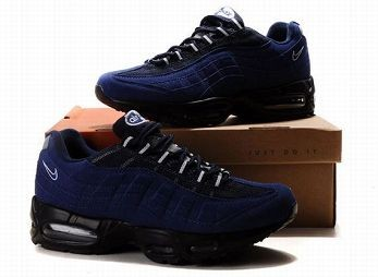 Nike Air Max 95 Mens Trainers Black Blue White
