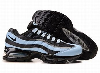 Nike Air Max 95 Mens Trainers Black Blue