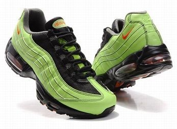 Nike Air Max 95 Mens Trainers Black Green Orange
