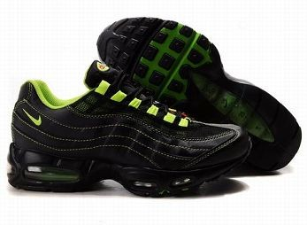 Nike Air Max 95 Mens Trainers Black Green