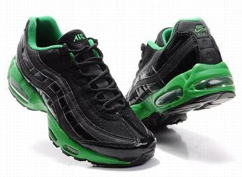 Nike Air Max 95 Mens Trainers Black Lucky Green