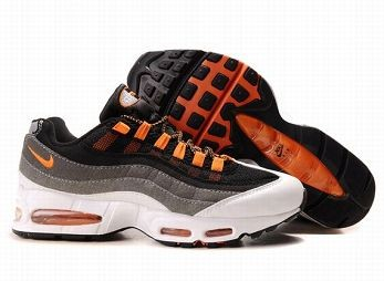 Nike Air Max 95 Mens Trainers Black Orange White