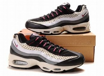Nike Air Max 95 Mens Trainers Black Pink White