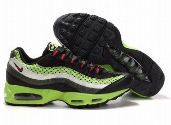 Nike Air Max 95 Mens Trainers Black Red Green Grey