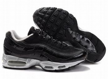Nike Air Max 95 Mens Trainers Black Silver White