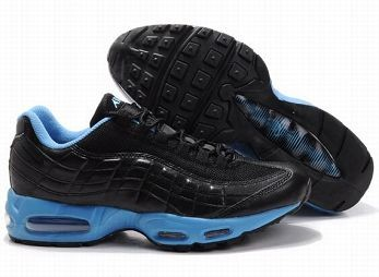 Nike Air Max 95 Mens Trainers Black University Blue
