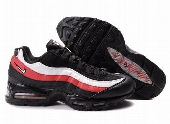 Nike Air Max 95 Mens Trainers Black White Red