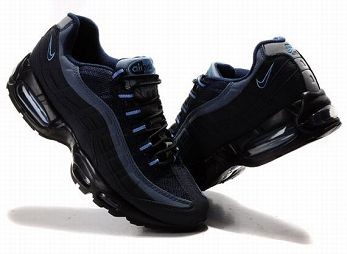 Nike Air Max 95 Mens Trainers Black and Blue