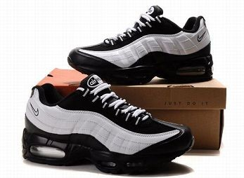 Nike Air Max 95 Mens Trainers Black and White