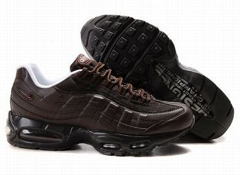 Nike Air Max 95 Mens Trainers Brown Black