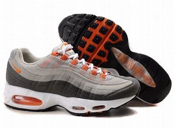 Nike Air Max 95 Mens Trainers Grey Orange White