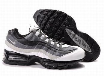 Nike Air Max 95 Mens Trainers Grey White Black