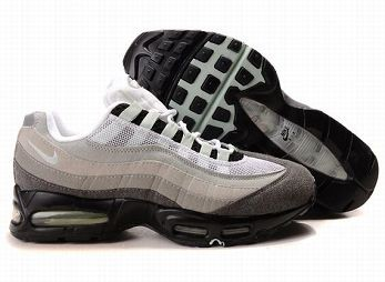 Nike Air Max 95 Mens Trainers White Anthracite Black