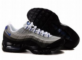 Nike Air Max 95 Mens Trainers White Anthracite Blue Black