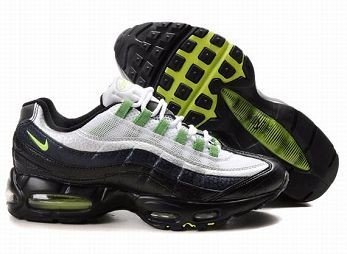 Nike Air Max 95 Mens Trainers White Black Grey