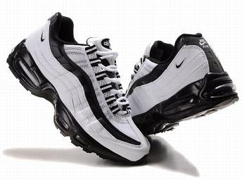 Nike Air Max 95 Mens Trainers White Black