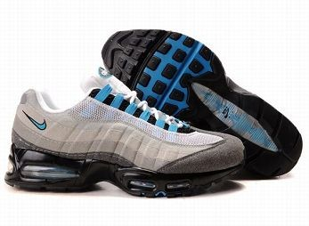 Nike Air Max 95 Mens Trainers White Grey Royal