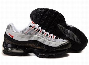 Nike Air Max 95 Mens Trainers White Red Black