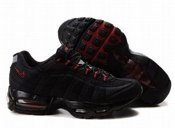 Nike Air Max 95 Womens Running Shoe Black Red