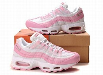 Nike Air Max 95 Womens Running Shoe White Pink