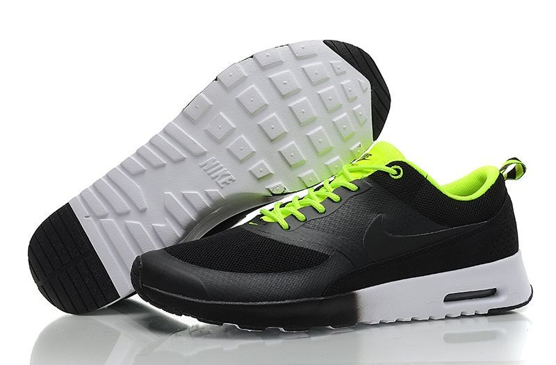 Nike Air Max Thea Mens Trainers Black Volt