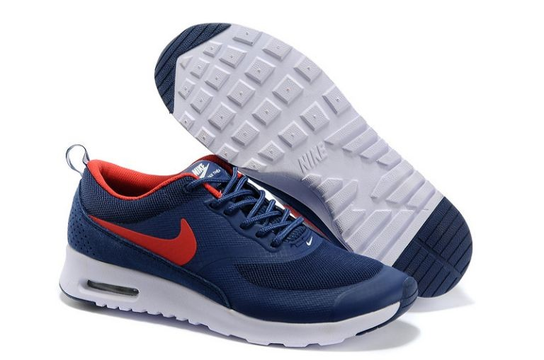 Nike Air Max Thea Mens Trainers Navy Red