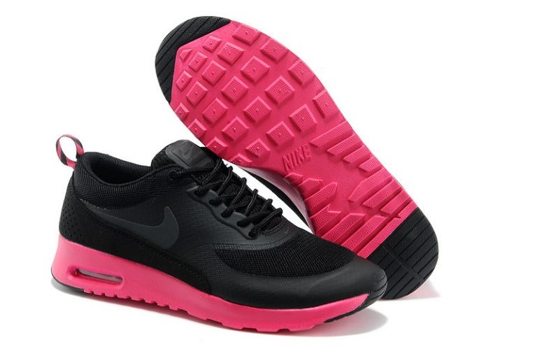 Nike Air Max Thea Womens Trainers Black Pink