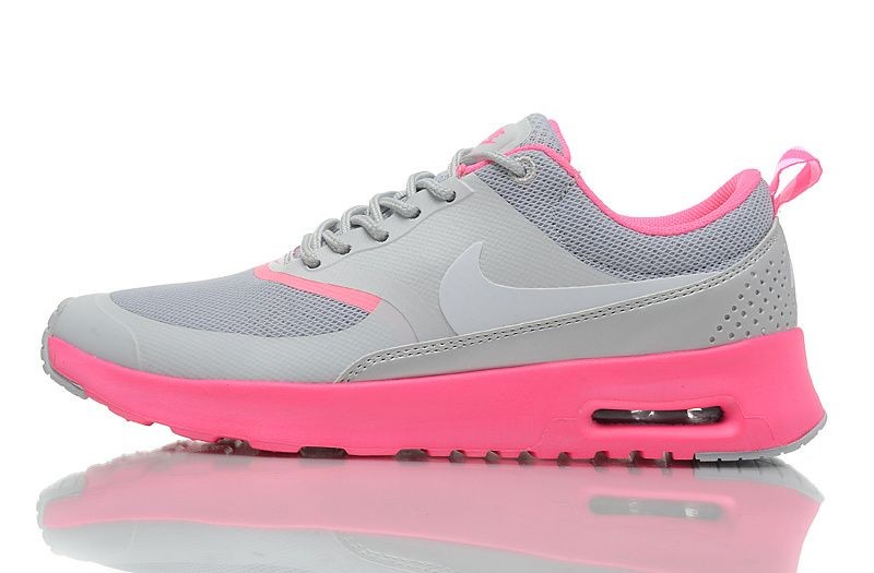 Nike Air Max Thea Womens Trainers Cool Grey Pink