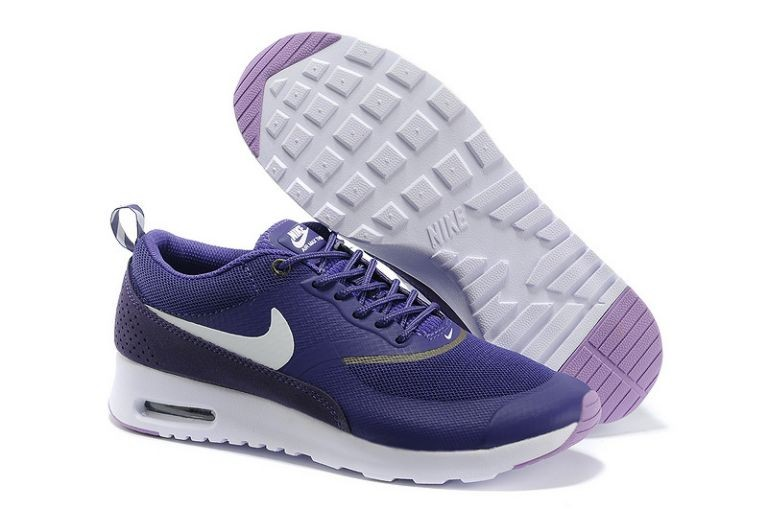 Nike Air Max Thea Womens Trainers Purple White