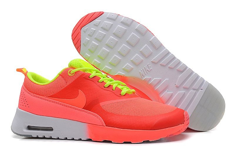 Nike Air Max Thea Womens Trainers Salmon Red Volt