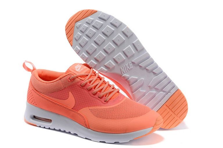 Nike Air Max Thea Womens Trainers Salmon Red