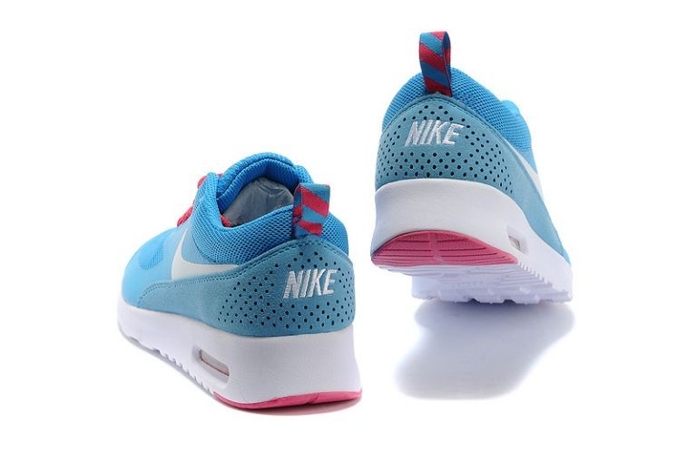 Nike Air Max Thea Womens Trainers Sky Blue White Pink