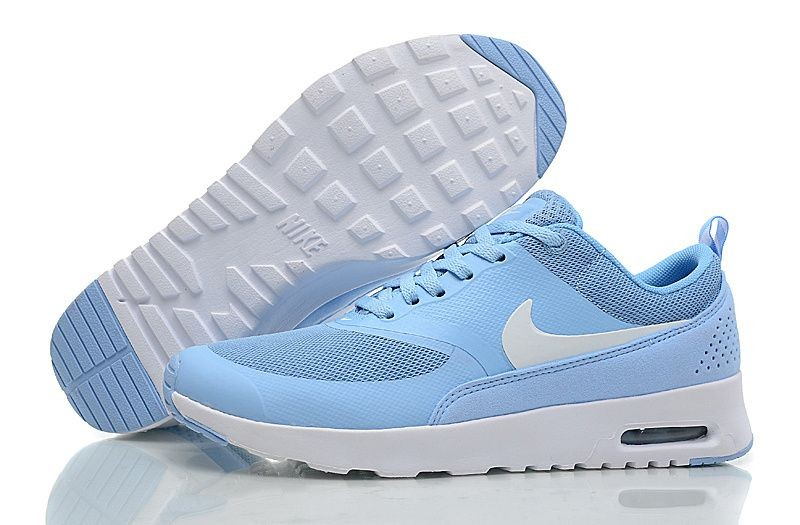 Nike Air Max Thea Womens Trainers Sky Blue White