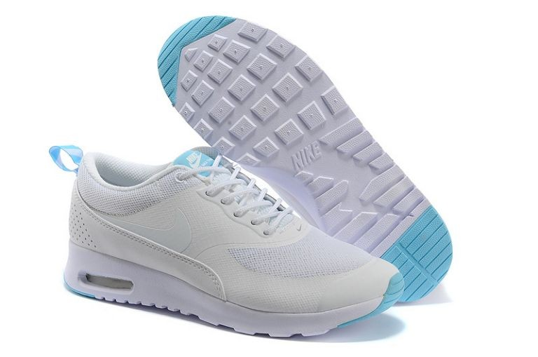Nike Air Max Thea Womens Trainers White Teal Blue