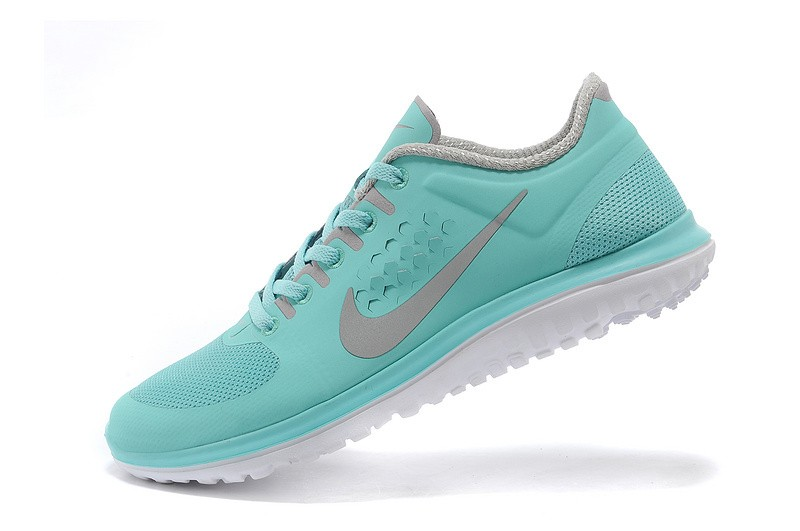 Nike FS Lite Run Womens Running Shoes Light Blue