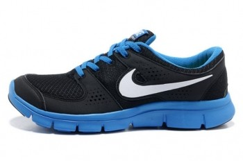 Nike Flex Experience RN Mens Running Shoes Black White Royal