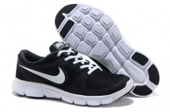 Nike Flex Experience RN Mens Running Shoes Black White