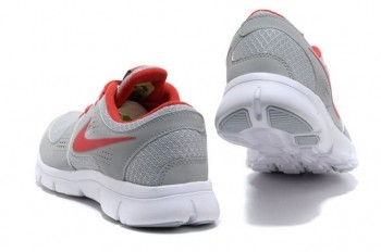 Nike Flex Experience RN Mens Running Shoes Grey Red