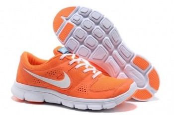 Nike Flex Experience RN Mens Running Shoes Total Orange White