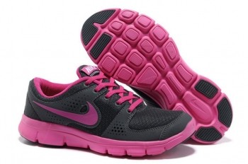 Nike Flex Experience RN Womens Running Shoes Dark Grey Pink