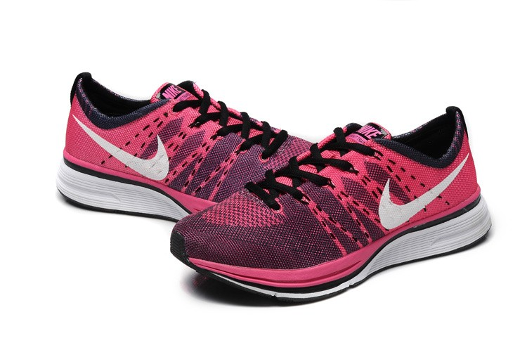 Nike Flyknit Racer Netty Womens Red White Running Shoes